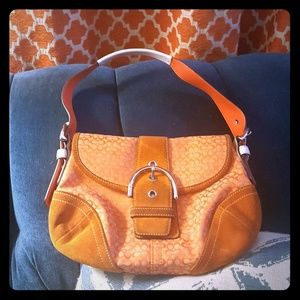 Perfect little handbag for the orange fanatic!